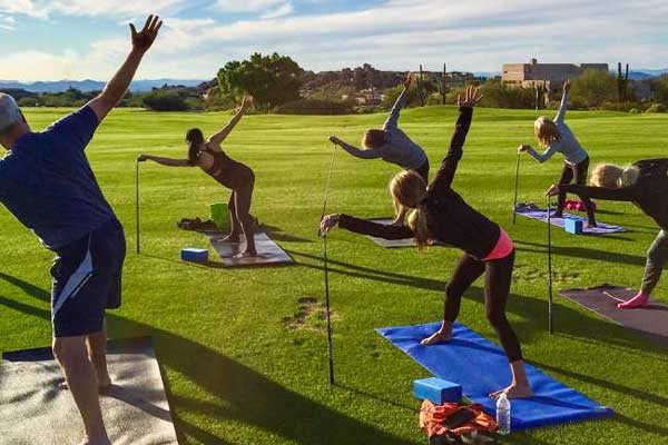 Yoga Golf Clinics